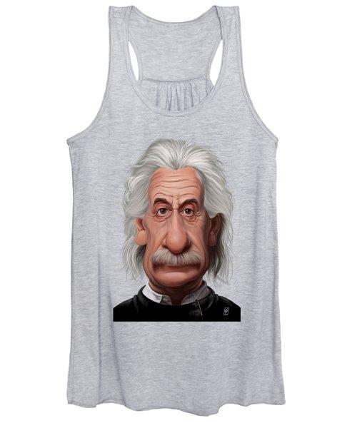 Celebrity Sunday - Albert Einstein Women's Tank Top