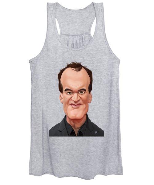 Celebrity Sunday - Quentin Tarantino Women's Tank Top