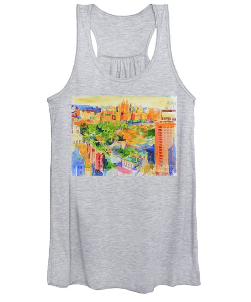 Central Park From The Carlyle Women's Tank Top