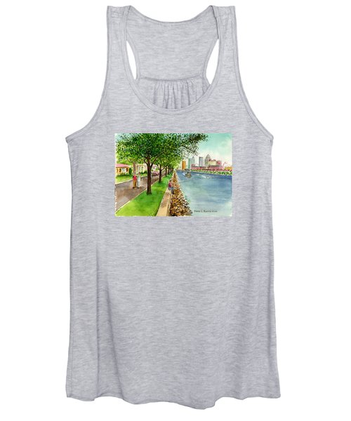 Channel Drive Tampa Florida Women's Tank Top