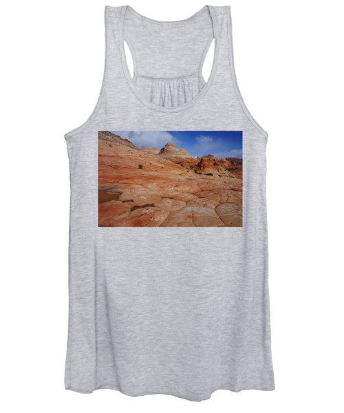 Checkered Red Rock Women's Tank Top