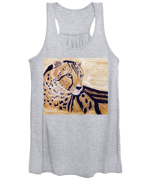 Cheeta Women's Tank Top