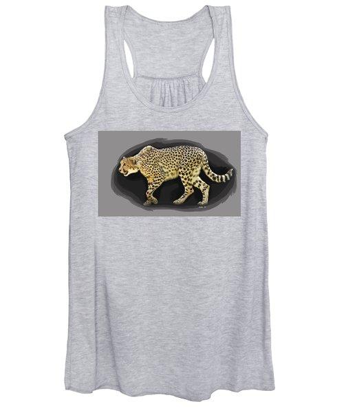 Cheetah 10 Women's Tank Top