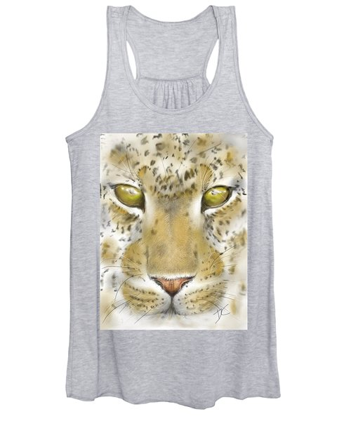 Cheetah Face Women's Tank Top