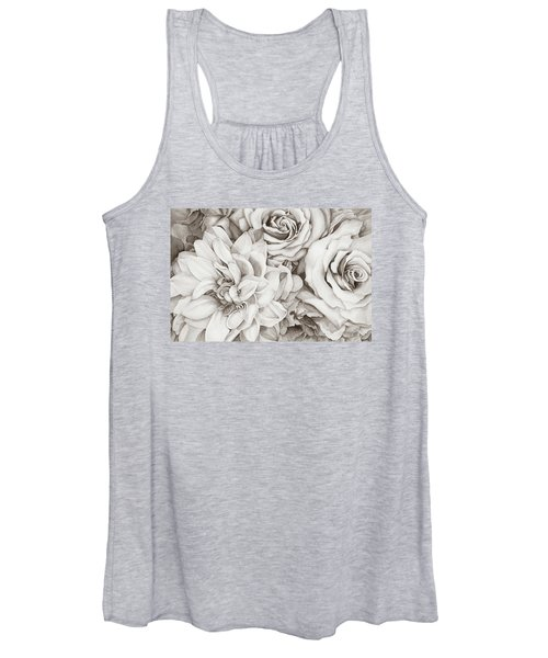 Chelsea's Bouquet - Neutral Women's Tank Top