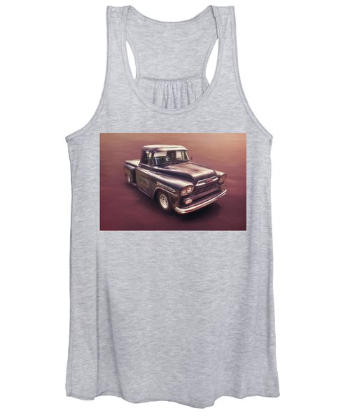 Chevrolet Apache Pickup Women's Tank Top