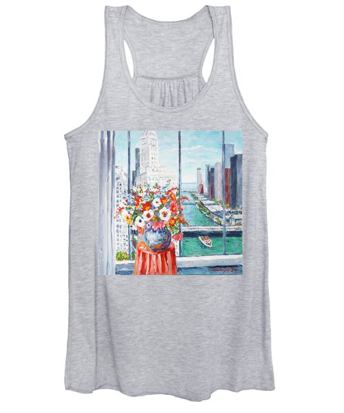 Chicago River Women's Tank Top