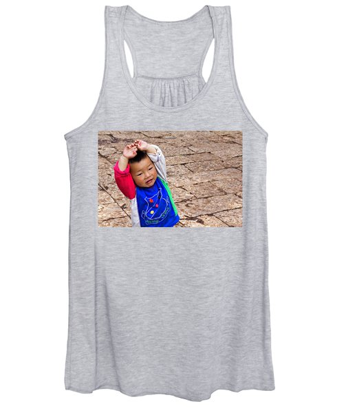 Chinese Boy Joy Women's Tank Top