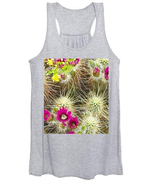 Cholla Cactus Blooms Women's Tank Top
