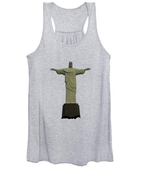 Christ The Redeemer Brazil Women's Tank Top