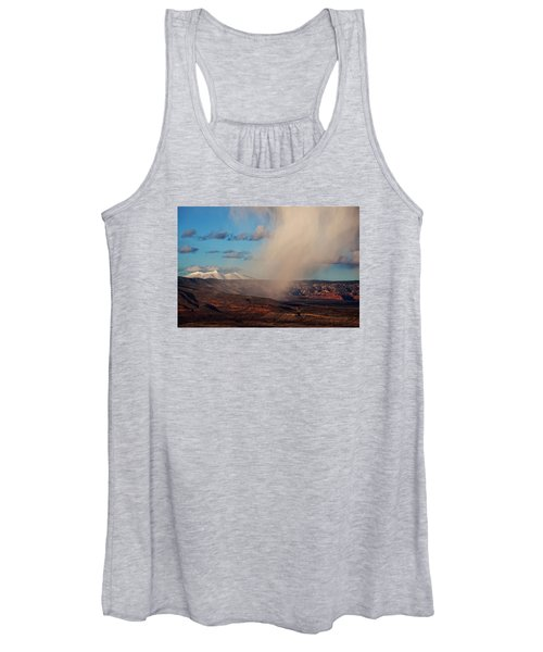 Christmas Day Snow Mix San Francisco Peaks Women's Tank Top