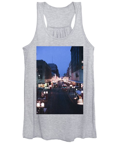 Christmas On The Mall Women's Tank Top
