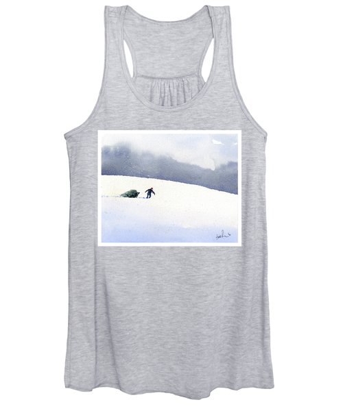 Christmas Past Women's Tank Top