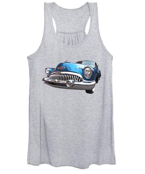 Chrome Heaven - Buick Riviera 1953 Women's Tank Top
