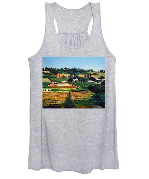 Chubby's Farm Women's Tank Top