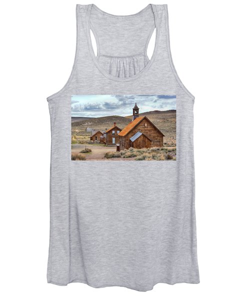 Church At Bodie Ghost Town Women's Tank Top