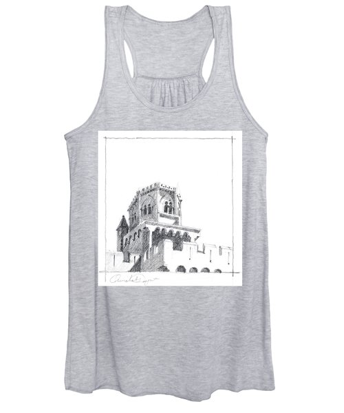 Church At Chamalieres Women's Tank Top