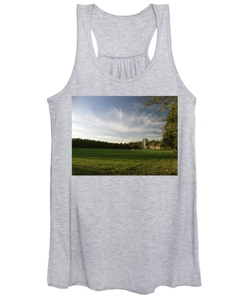 Church On The Edge Of A Forest Women's Tank Top