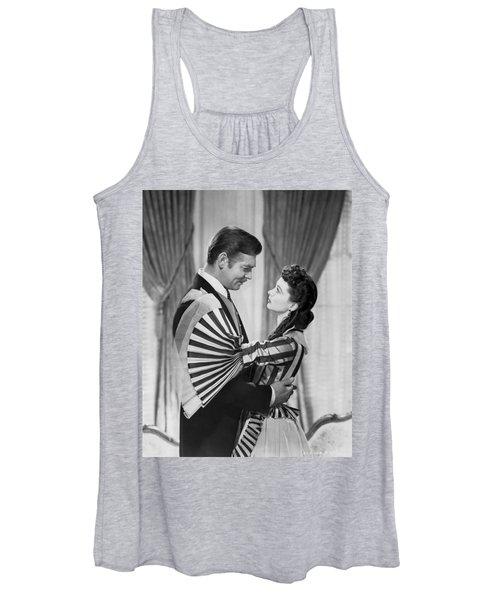 Clark Gable And Vivien Leigh Women's Tank Top