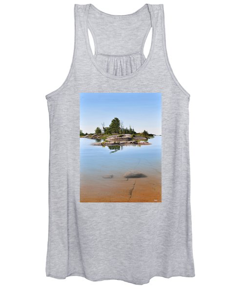 Clear Contentment Women's Tank Top