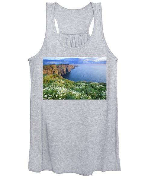 Cliffs Of Moher, Co Clare, Ireland Women's Tank Top