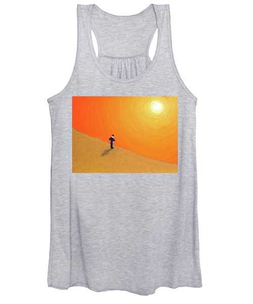 Close To The Edge Women's Tank Top