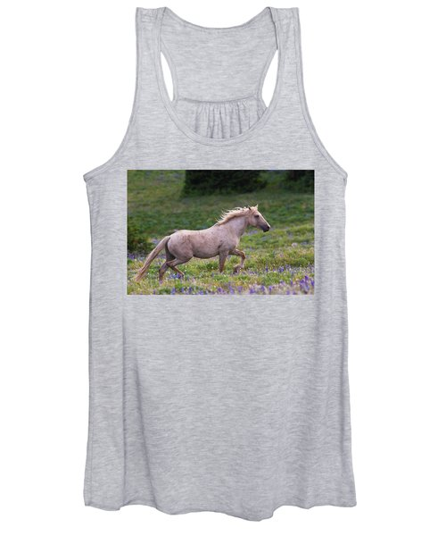 Cloud- Wild Stallion Of The West Women's Tank Top