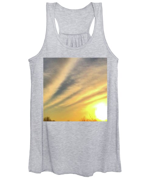 Clouds And Sun Women's Tank Top
