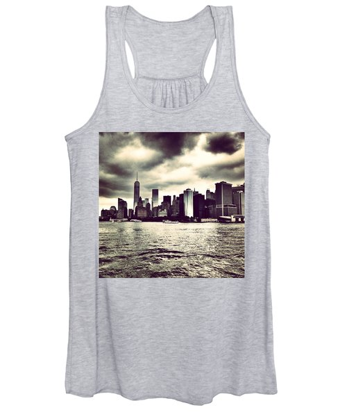 Cloudy Day In #nyc Women's Tank Top