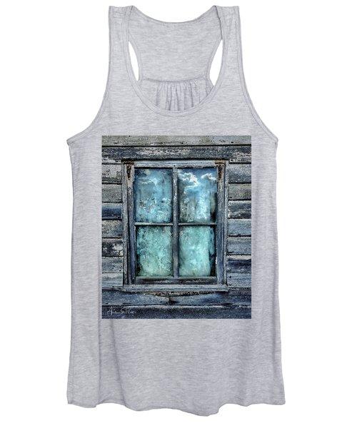 Cloudy Window Women's Tank Top