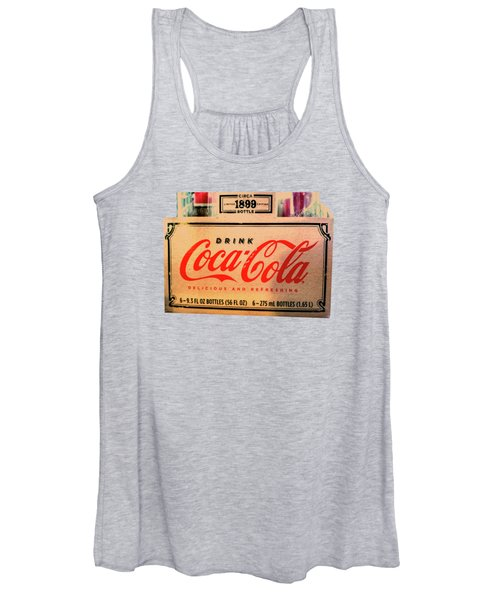 Coca Cola 1899 Canvas Print,photographic Print,art Print,framed Print,greeting Card,iphone Case, Women's Tank Top