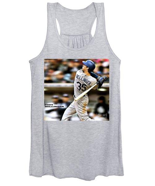 Cody Bellinger, Los Angeles Dodgers Women's Tank Top