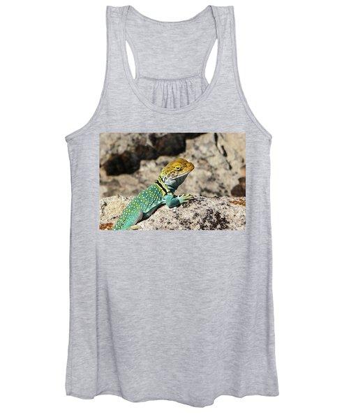 Collared Lizard Women's Tank Top