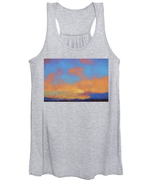 Color Abstraction Lvii Women's Tank Top