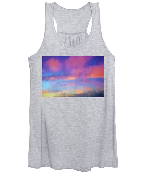 Color Abstraction Xlviii - Sunset Women's Tank Top