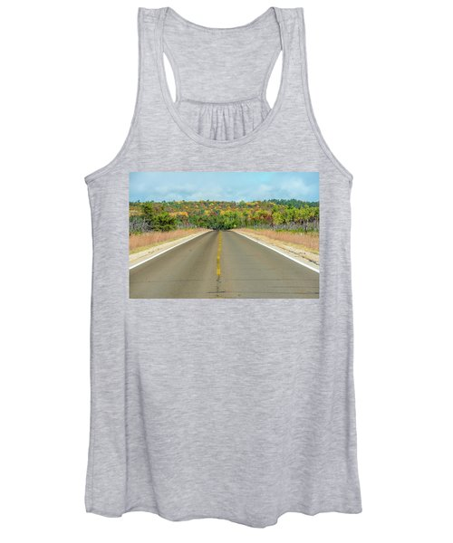 Color At Roads End Women's Tank Top