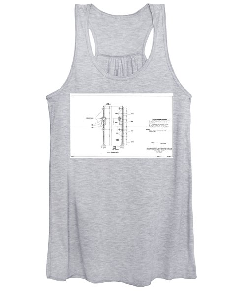 Color Position Light Ground Signals Women's Tank Top