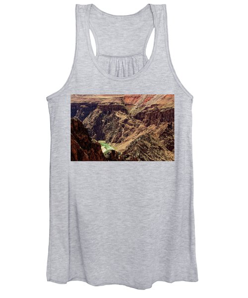 Colorado River From The South Kaibab Trail Women's Tank Top