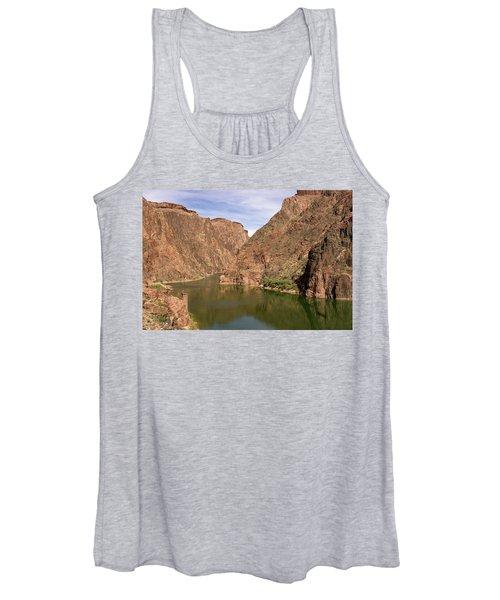 Colorado River, Grand Canyon Women's Tank Top