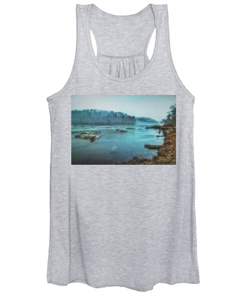 Colorful Fog Women's Tank Top