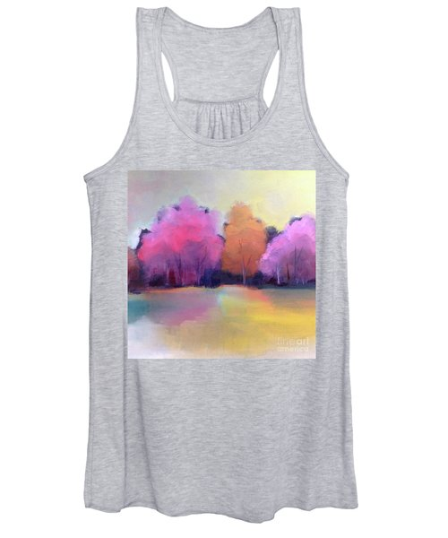 Colorful Reflection Women's Tank Top