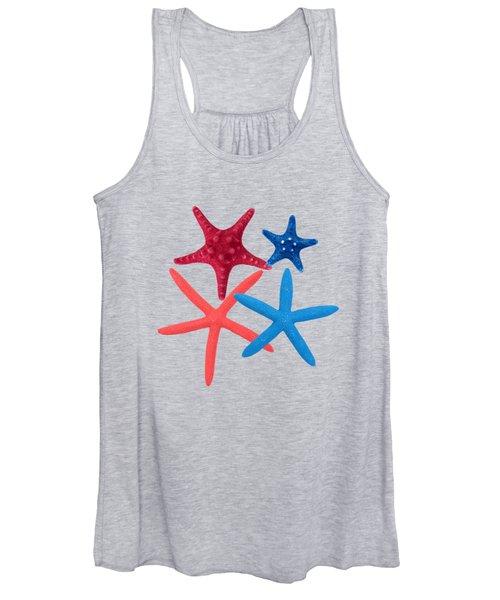 Colorful Starfish Women's Tank Top