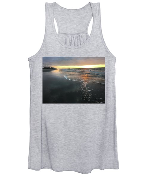 Colors Of A Storm At Sunrise Women's Tank Top