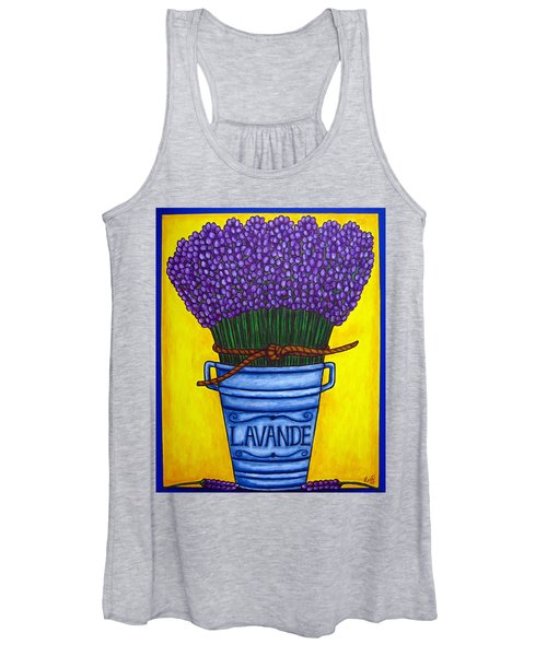 Colours Of Provence Women's Tank Top