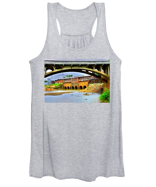 Columbia Canal At Gervais Street Bridge Women's Tank Top