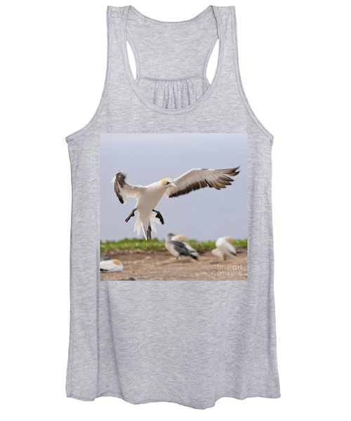 Coming In To Land Women's Tank Top