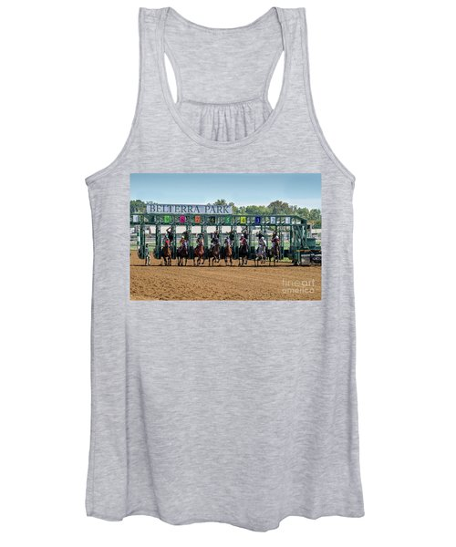 Coming Out Of The Gate Women's Tank Top