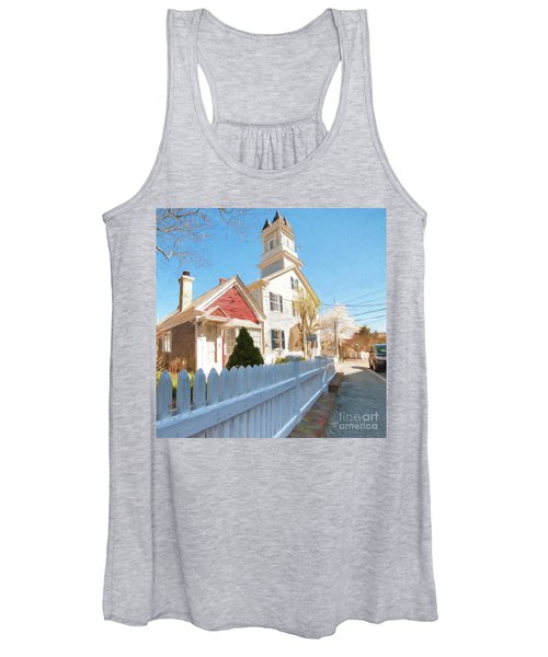 Commercial St. #3 Women's Tank Top