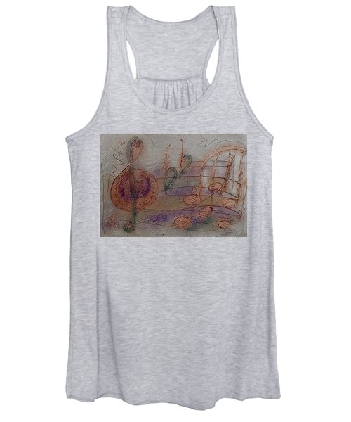 Composition In B Flat Women's Tank Top