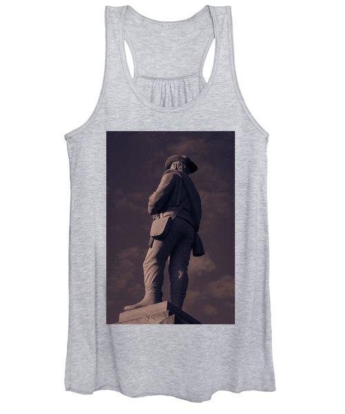 Confederate Statue Women's Tank Top